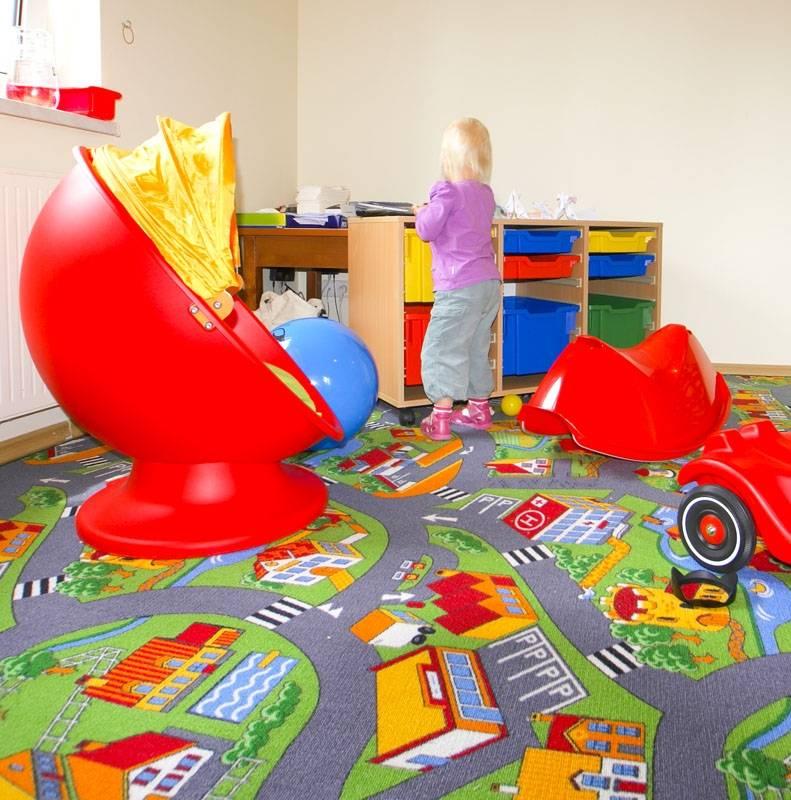 Właśnie tak wygląda dziecięcy pokój zabaw, jaki mają do dyspozycji turyści w pensjonacie Karkonoski*** SPA w Karpaczu.