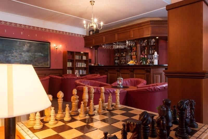 Resort Bałtyk to obiekt wypoczynkowy nad morzem, gdzie funkcjonuje drink bar (na zdjęciu).