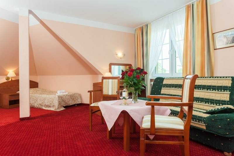 Przedstawiamy przykładowy pokój w resorcie Bałtyk w Rewalu nad morzem