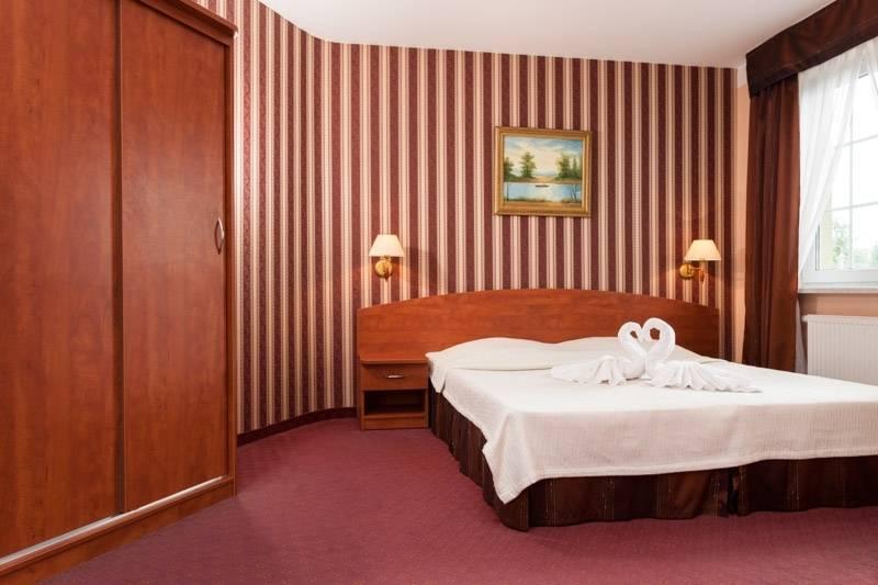 Resort Bałtyk - spanie małżeńskie w pokoju