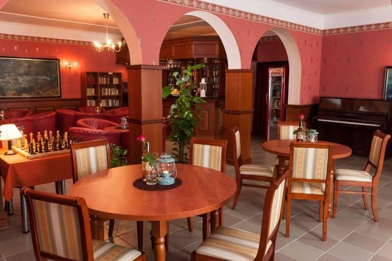 Bałtyk w Rewalu to obiekt (z kategorii resortu), w którym goście mają do dyspozycji jadalnię.
