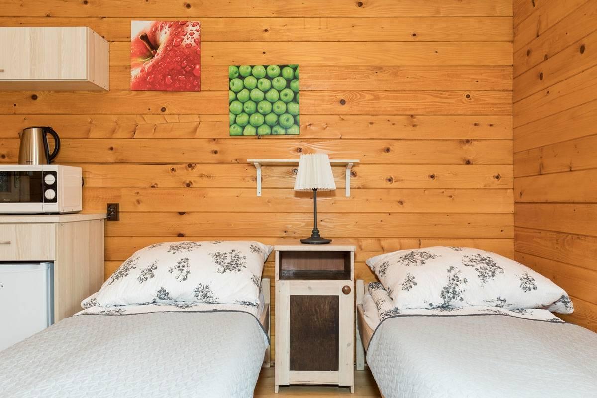 Ośrodek Wypoczynkowy Domki i Pokoje BOSMAN w Rewalu - zdjęcie spania