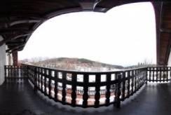 Balkon pensjonatu Pensjonat L&B *** w Karpaczu.