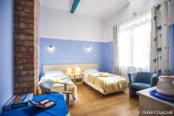 pokój Ośrodek MEWA - łoże w pokoju