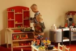 Specjalna strefa dla dzieci resortu Bałtyk (Rewal).
