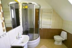Sfotografowana łazienka w pokoju Willa ARCHITEKT