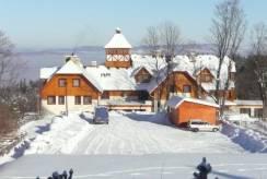 Hotel w zimowej scenerii - Hotel CONCORDIA *** z Karpacza.