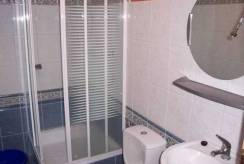 Wnętrze łazienki (domek letniskowy Domki - Blisko morza, Międzywodzie)