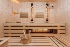 Wygląd sauny pensjonatu NAWIGATOR SPA w Rewalu.