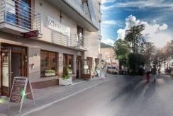 Pensjonat NAWIGATOR SPA w Rewalu na zdjęciu z zewnątrz.