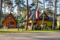 Zdjęcie zewnętrznej części pensjonatu Pensjonat BEATA (Pobierowo).