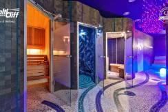 Foto sauny apartamentu BALTIC CLIFF Apartments Spa&Wellness w Niechorzu. Pomorze Zachodnie