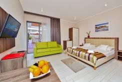 Widok pokoju w apartamencie BALTIC CLIFF Apartments Spa&Wellness (woj. zachodniopomorskie)