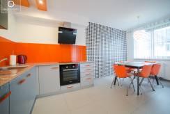 Prezentacja aneksu kuchennego z apartamentu APARTAMENTY w KARPACZU. eu w Karpaczu.