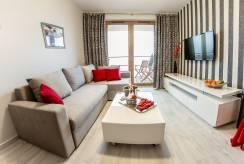 Widok pokoju w apartamencie APARTAMENTY w KARPACZU. eu (woj. dolnośląskie)