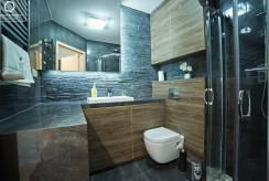 Sfotografowana łazienka w apartamencie APARTAMENTY w KARPACZU. eu