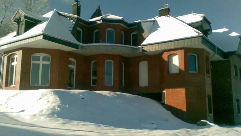 Zimowa sesja pokoju Willa ARCHITEKT.